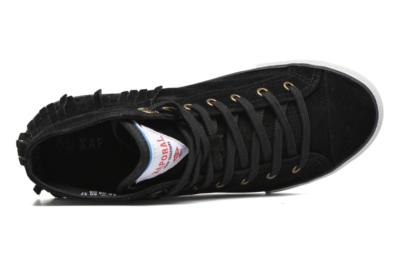 Sneaker Kaporal Icarly schwarz ansicht von links