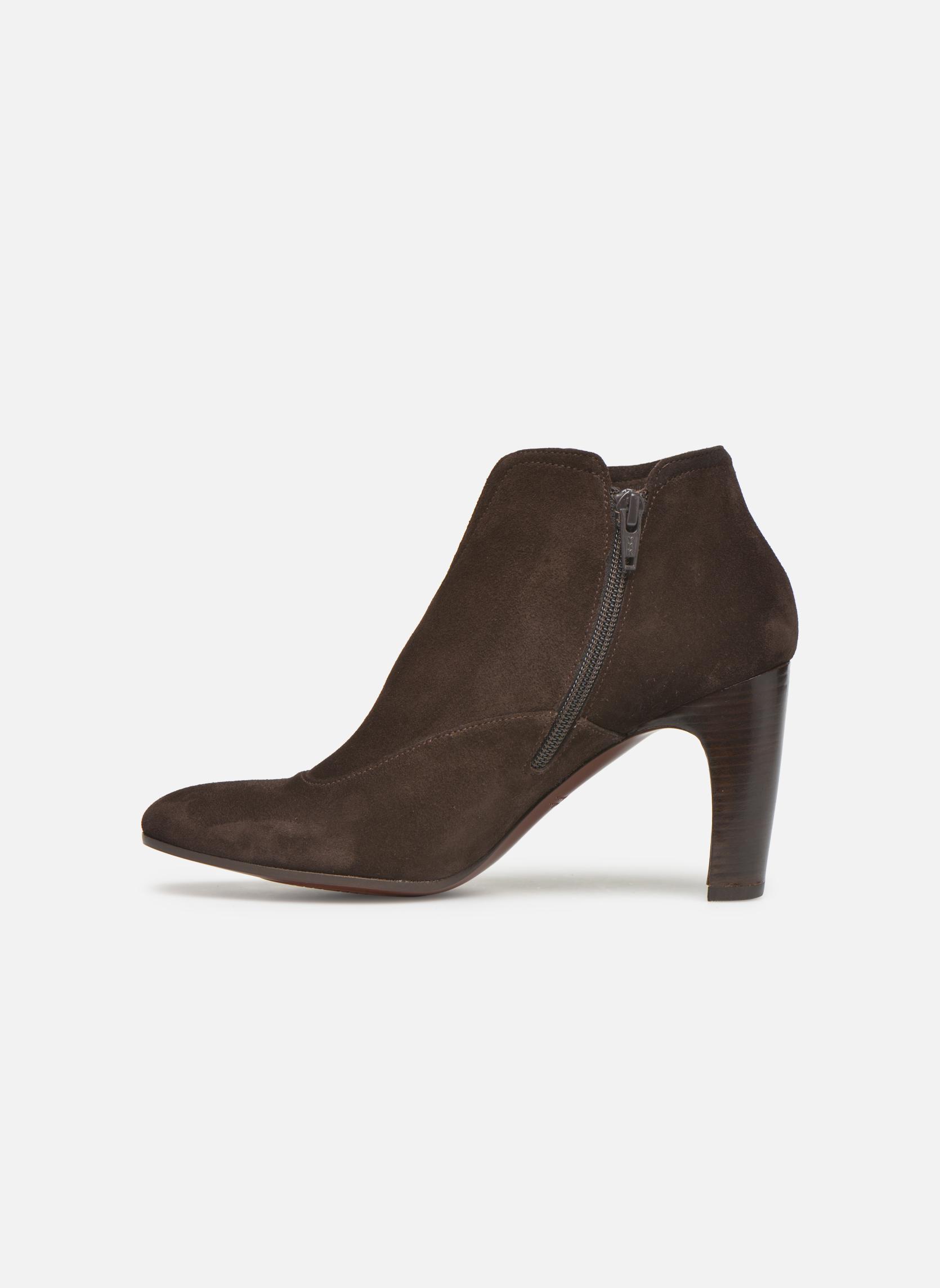 Bottines et boots Chie Mihara Fedora Marron vue face