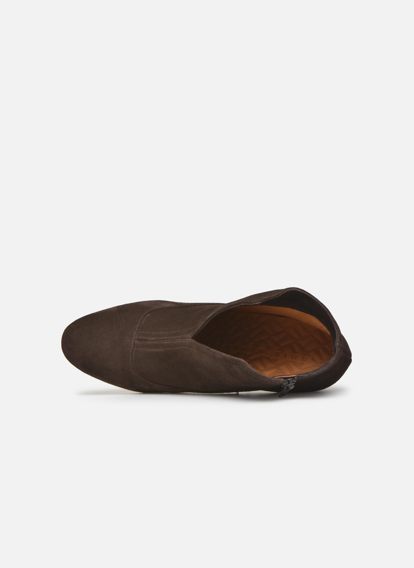Bottines et boots Chie Mihara Fedora Marron vue gauche