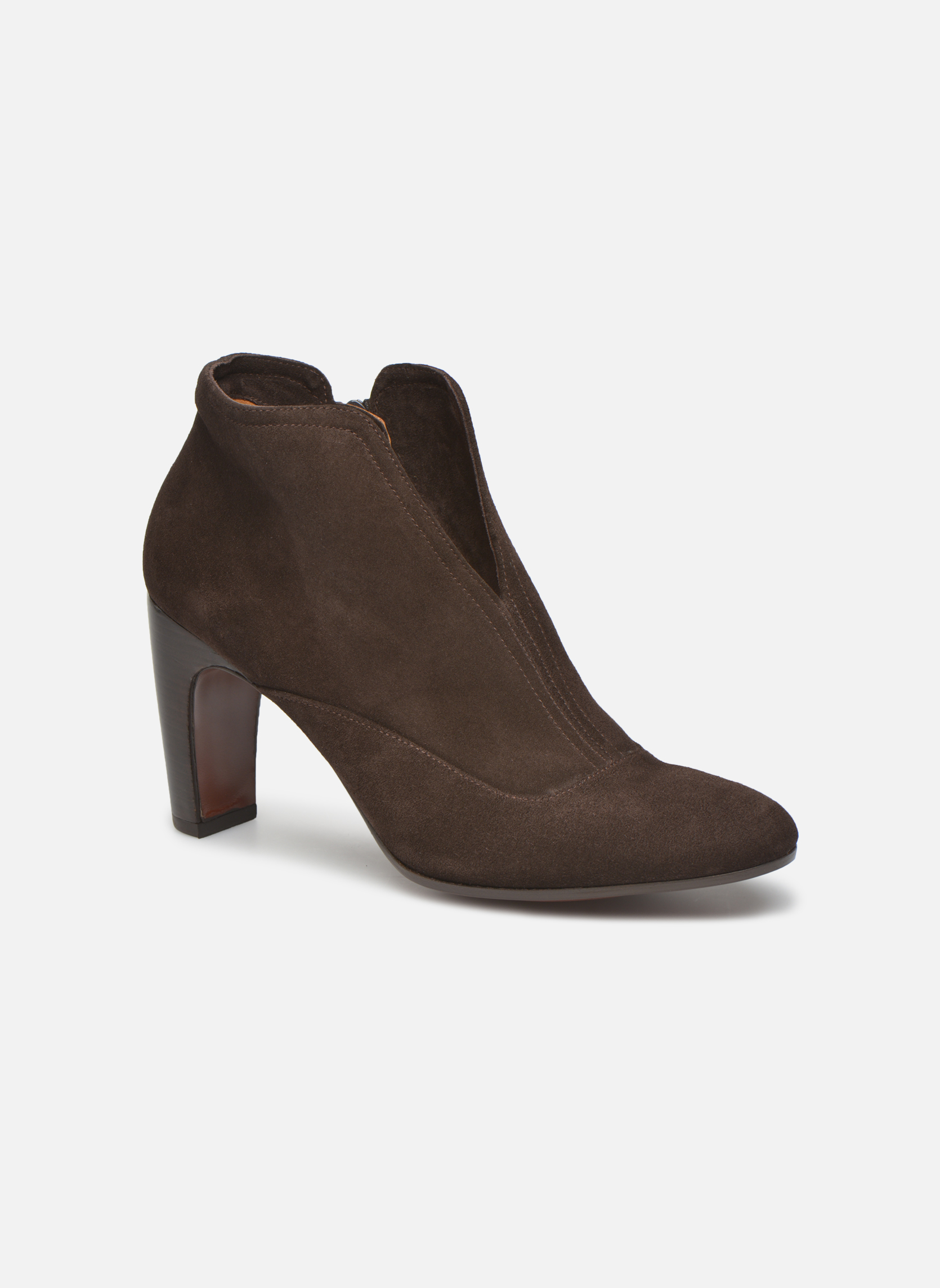 Bottines et boots Chie Mihara Fedora Marron vue détail/paire