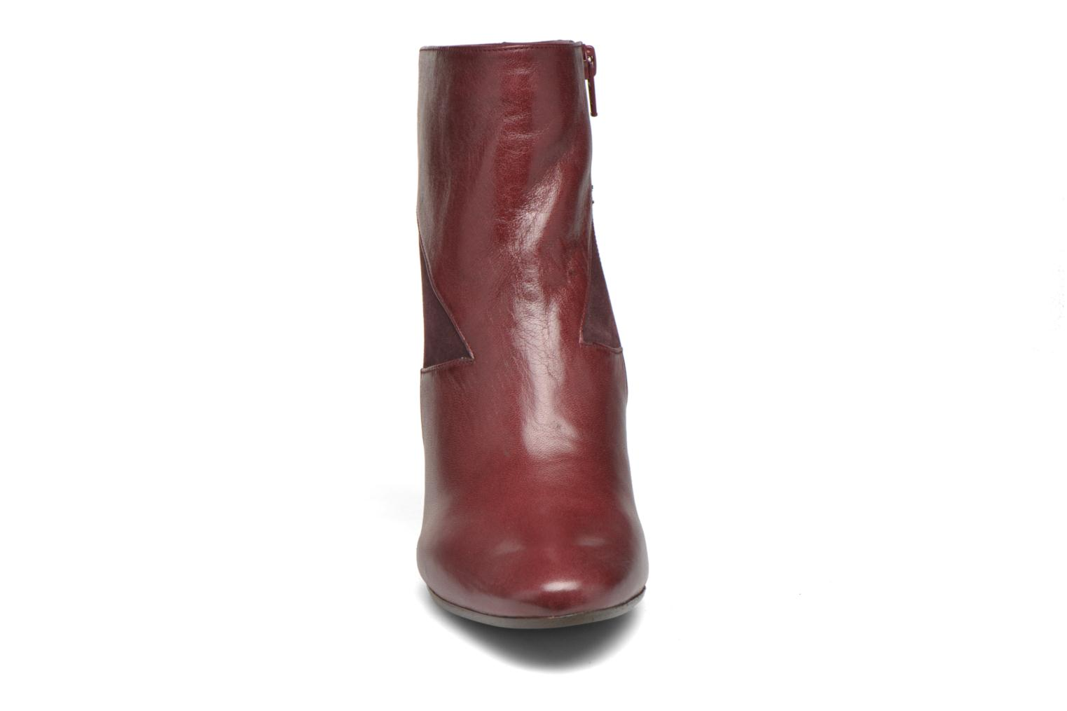 Ankle boots Chie Mihara Flint-C Burgundy model view