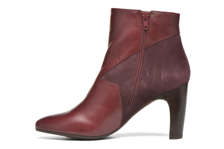Stiefeletten & Boots Chie Mihara Flint-C weinrot ansicht von vorne