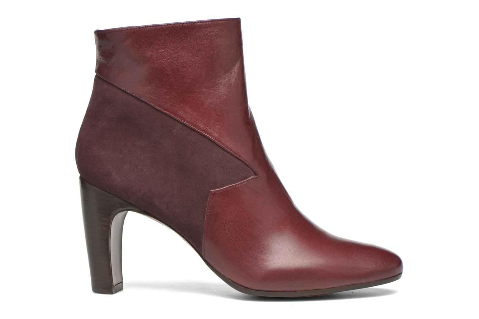 Ankle boots Chie Mihara Flint-C Burgundy back view
