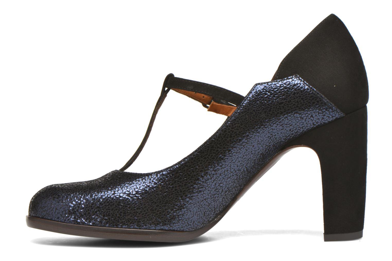 Zapatos de tacón Chie Mihara Atipo Azul vista de frente
