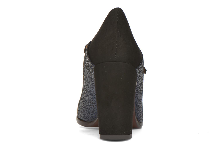 Zapatos de tacón Chie Mihara Atipo Azul vista lateral derecha