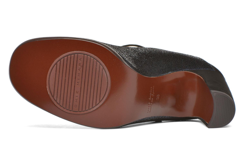Zapatos de tacón Chie Mihara Atipo Azul vista de arriba