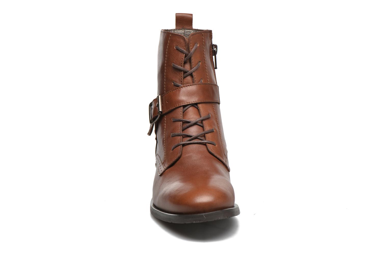 Bottines et boots HE Spring Coton Marron vue portées chaussures