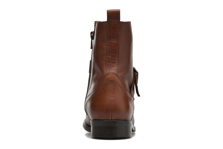 Bottines et boots HE Spring Coton Marron vue droite