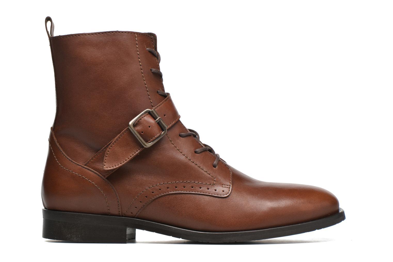 Bottines et boots HE Spring Coton Marron vue derrière