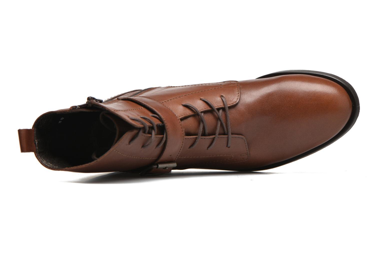 Bottines et boots HE Spring Coton Marron vue gauche