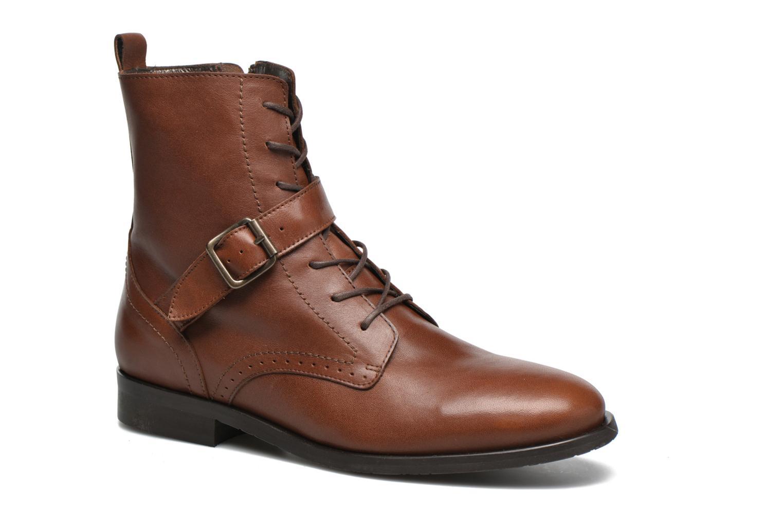 Bottines et boots HE Spring Coton Marron vue détail/paire