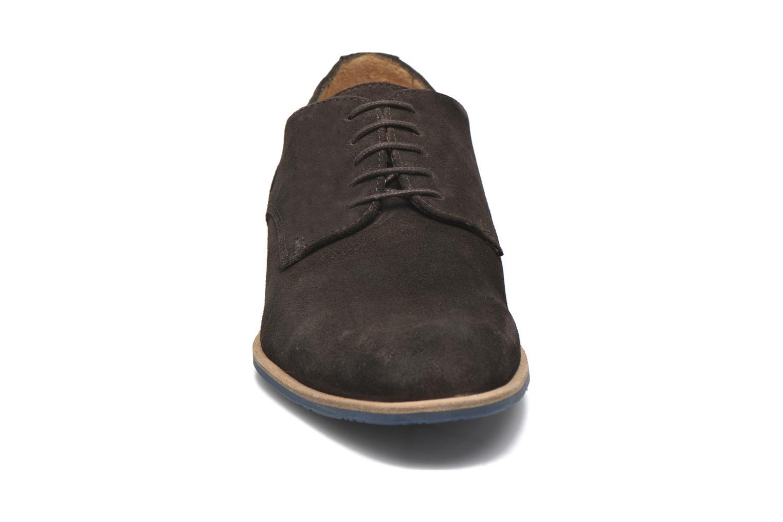Chaussures à lacets HE Spring Max Marron vue portées chaussures