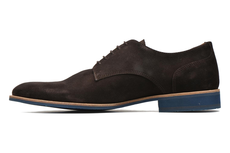 Chaussures à lacets HE Spring Max Marron vue face