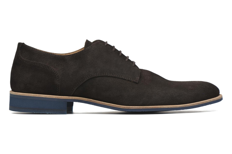 Chaussures à lacets HE Spring Max Marron vue derrière