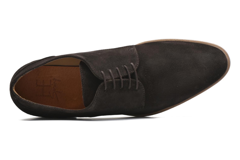 Chaussures à lacets HE Spring Max Marron vue gauche
