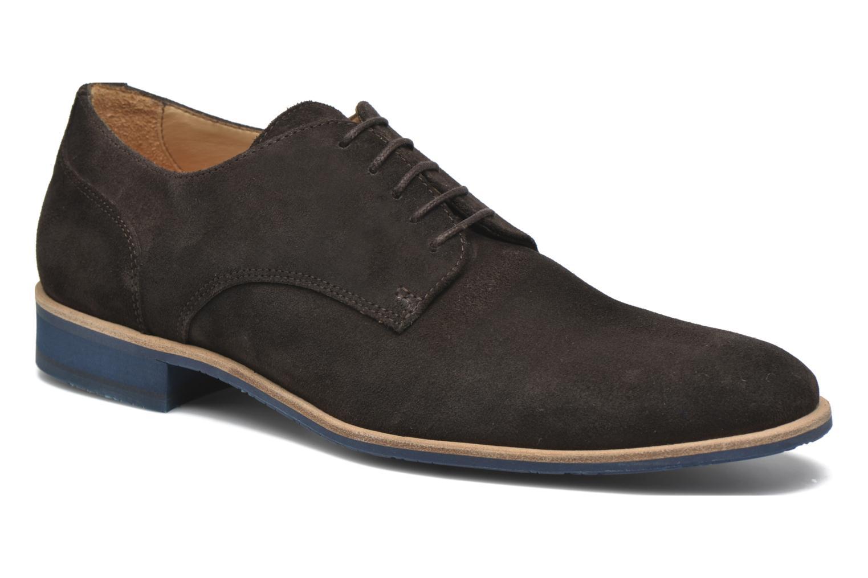 Chaussures à lacets HE Spring Max Marron vue détail/paire
