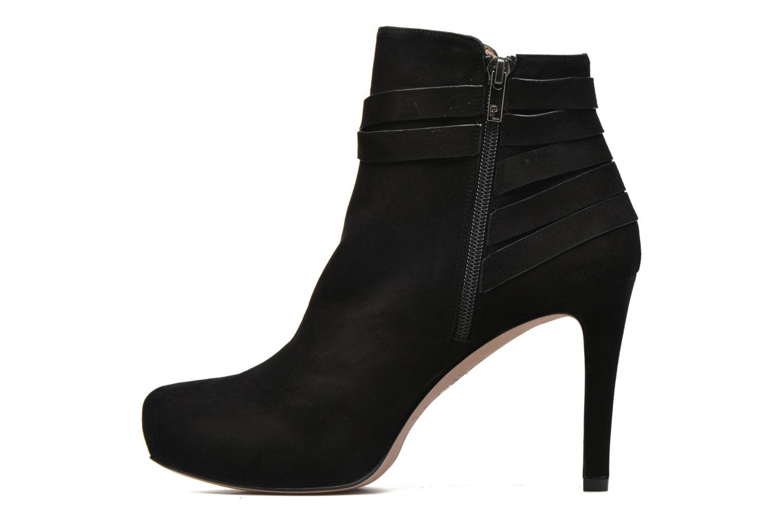 Bottines et boots Pura Lopez Catarina Noir vue face