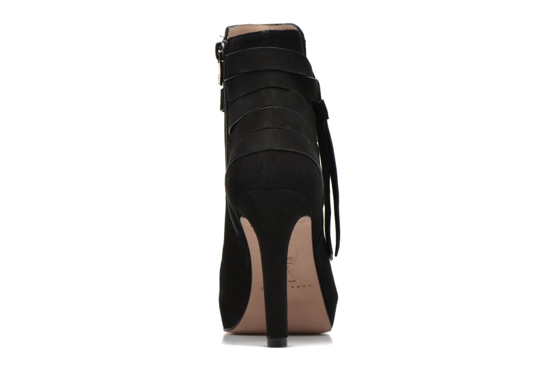 Bottines et boots Pura Lopez Catarina Noir vue droite