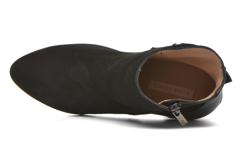 Gloria Suede + Sport calf black