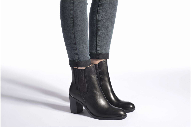 Bottines et boots JB MARTIN Lueur Noir vue bas / vue portée sac