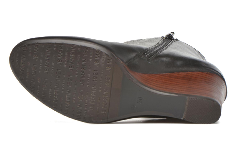 Bottines et boots JB MARTIN 1Algora Noir vue haut