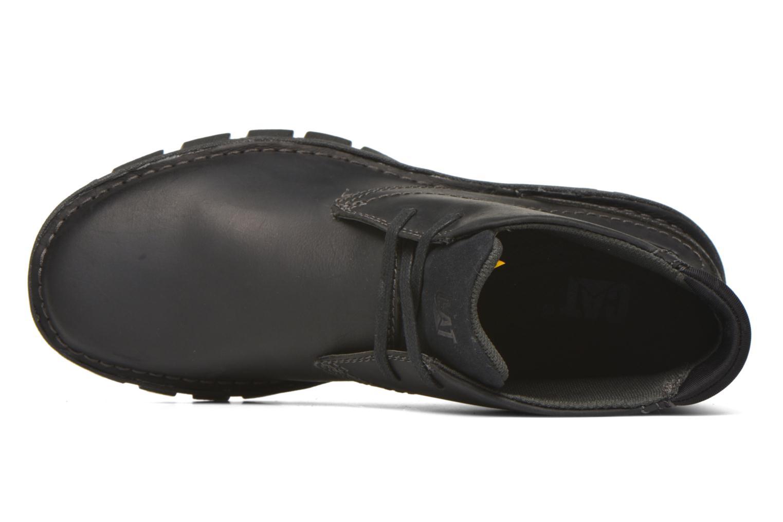 Chaussures à lacets Caterpillar Mitch Noir vue gauche