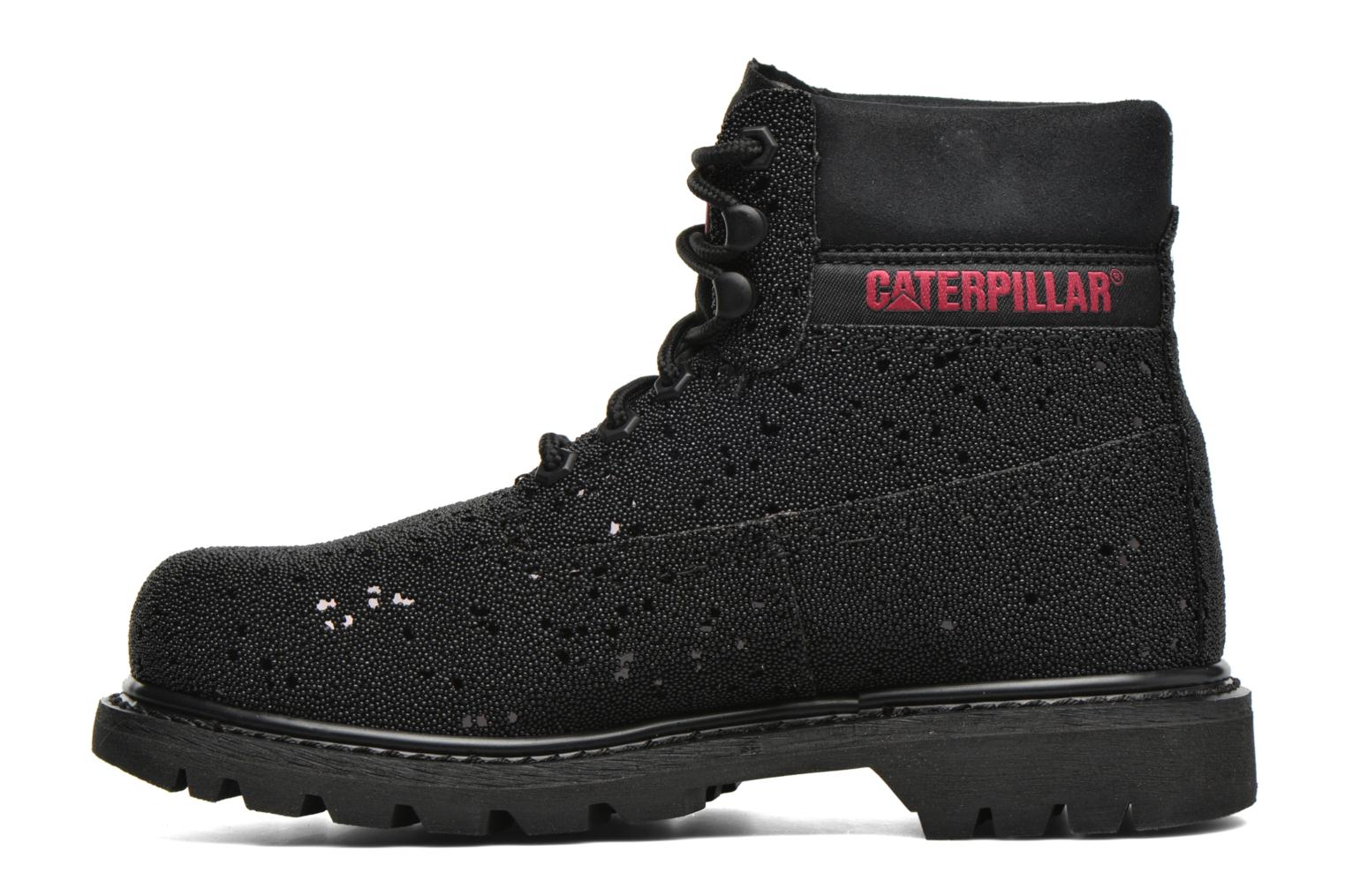 Chaussures à lacets Caterpillar Colorado Iridescent Noir vue face