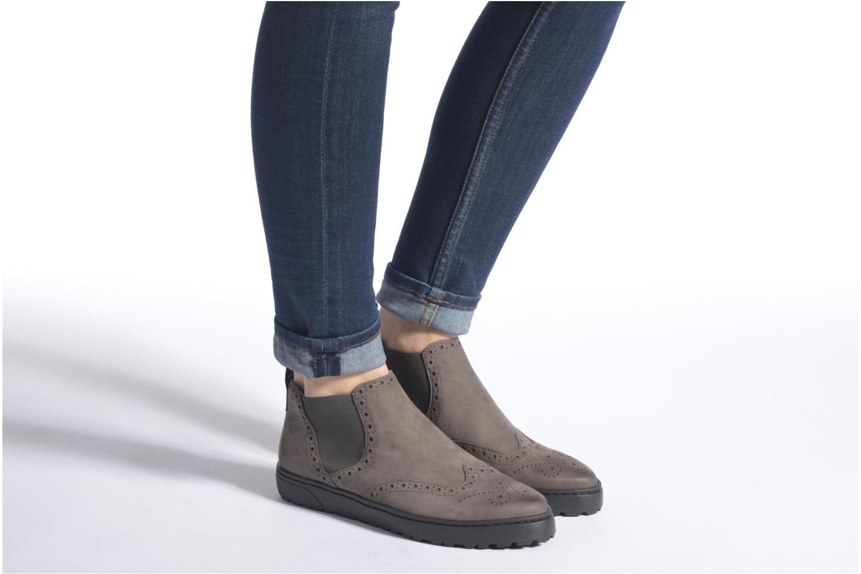 Bottines et boots Ara Toronto 43818 Gris vue bas / vue portée sac