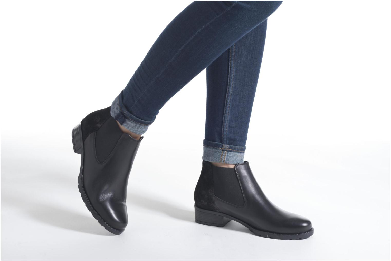 Bottines et boots Ara Liverpool 49501 Noir vue bas / vue portée sac