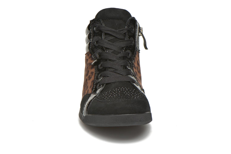 Baskets Ara Rom Tall Imprimé 44430 Noir vue portées chaussures