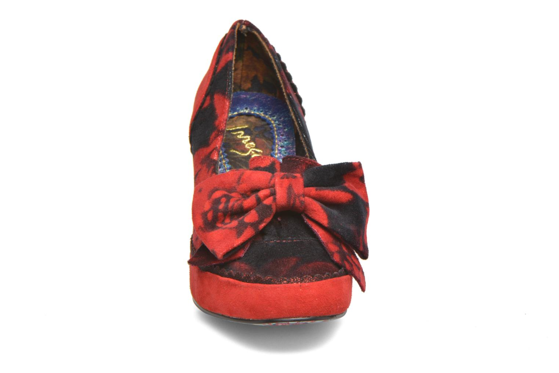 Escarpins Irregular Choice High Hopes Rouge vue portées chaussures