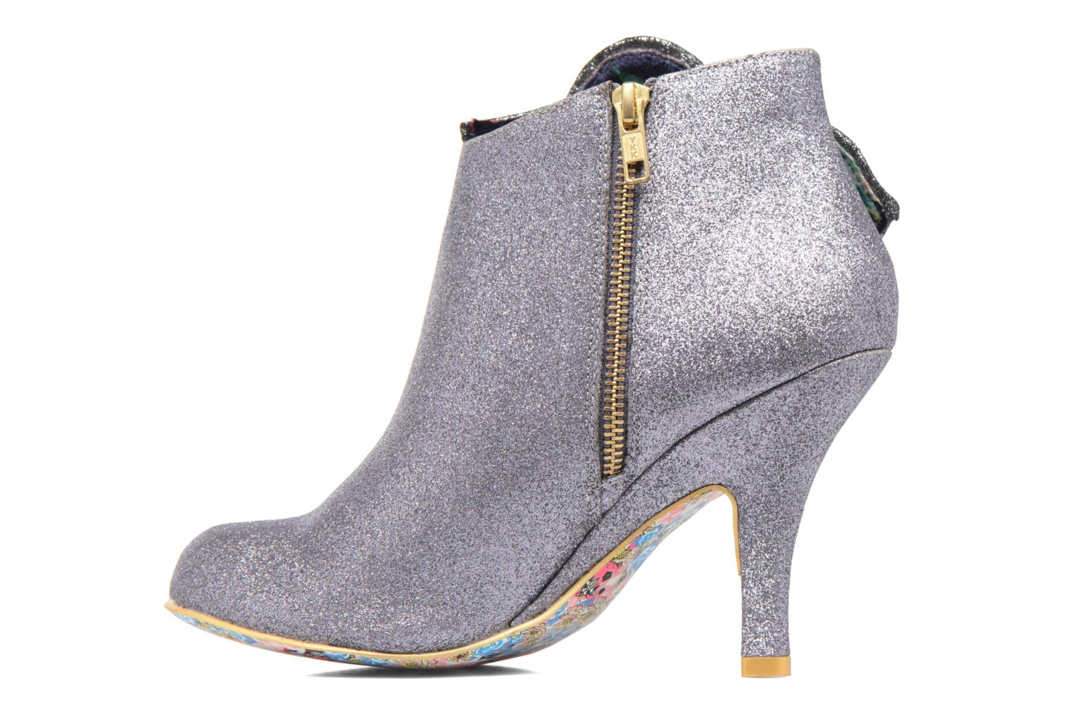 Bottines et boots Irregular Choice Pearl Necture Argent vue face