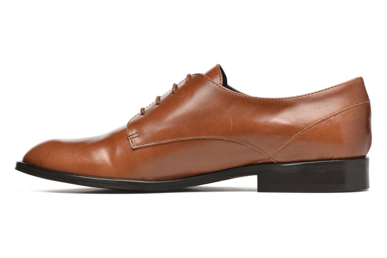 Chaussures à lacets Jonak 2545 Marron vue face
