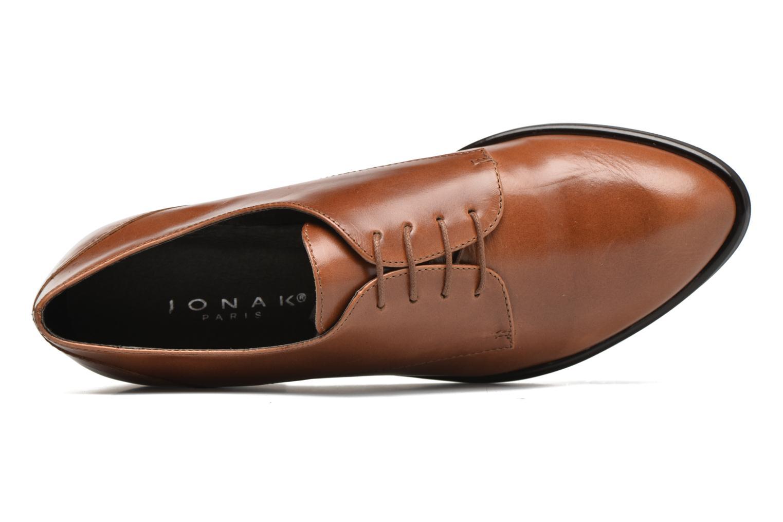 Chaussures à lacets Jonak 2545 Marron vue gauche