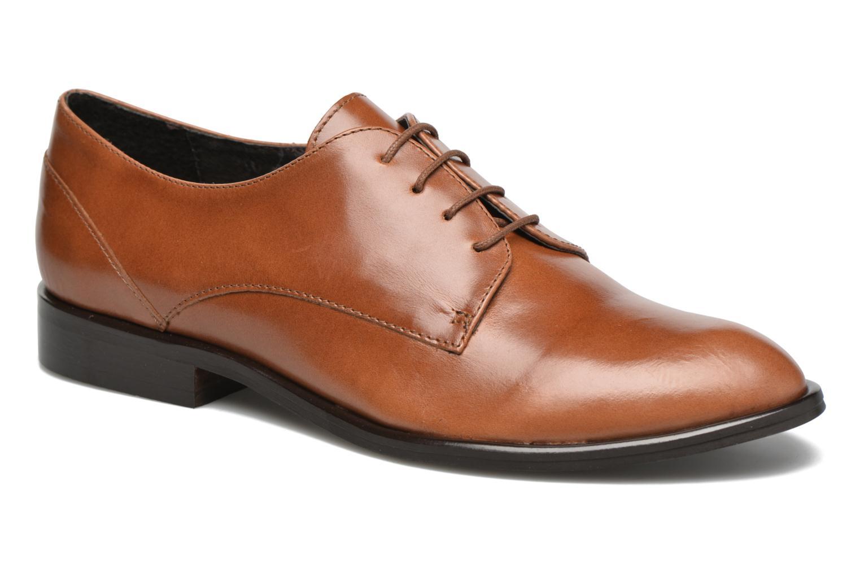 Chaussures à lacets Jonak 2545 Marron vue détail/paire