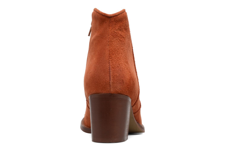Bottines et boots Jonak Dakota Orange vue droite