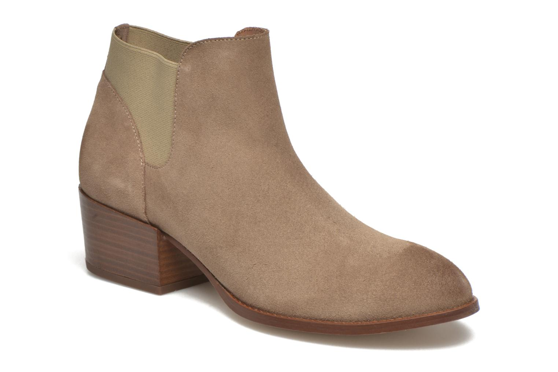 Bottines et boots Jonak Darde Beige vue détail/paire