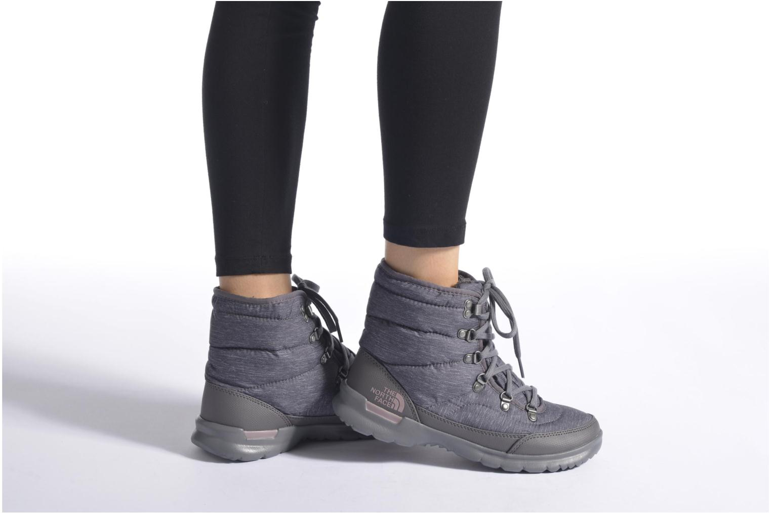 Chaussures de sport The North Face W Thermoball Lace II Gris vue bas / vue portée sac