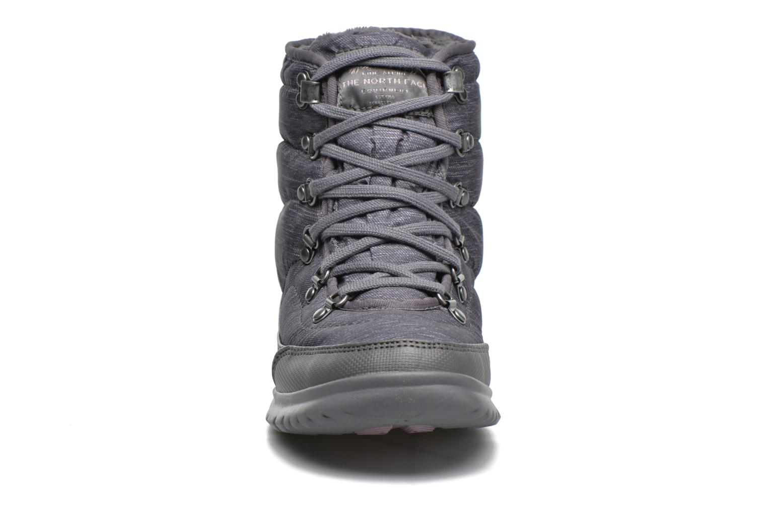 Chaussures de sport The North Face W Thermoball Lace II Gris vue portées chaussures