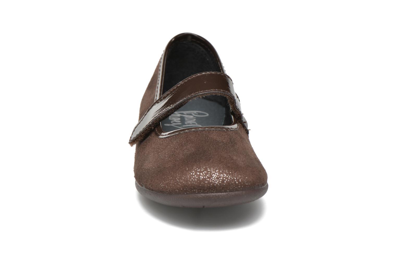 Ballerinas I Love Shoes mantaisie braun schuhe getragen