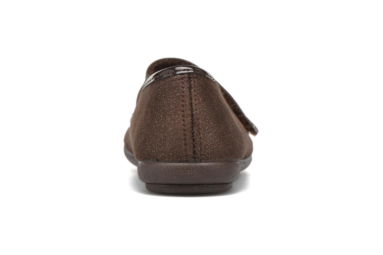 Ballerinas I Love Shoes mantaisie braun ansicht von rechts