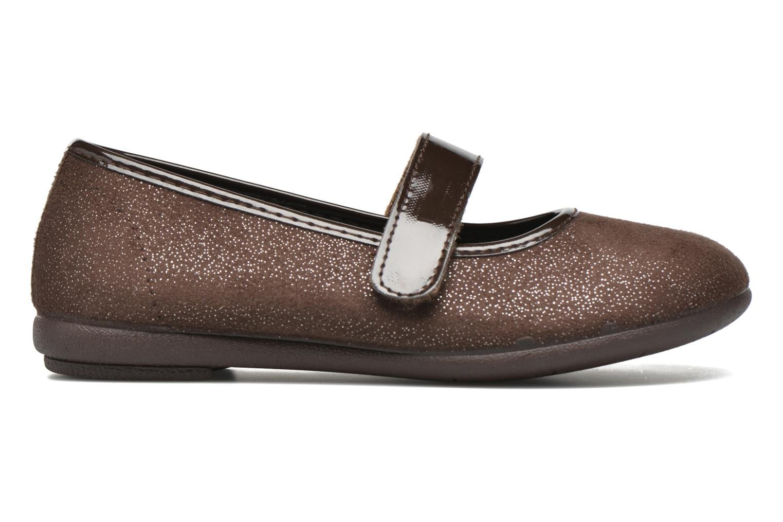 Ballerinas I Love Shoes mantaisie braun ansicht von hinten
