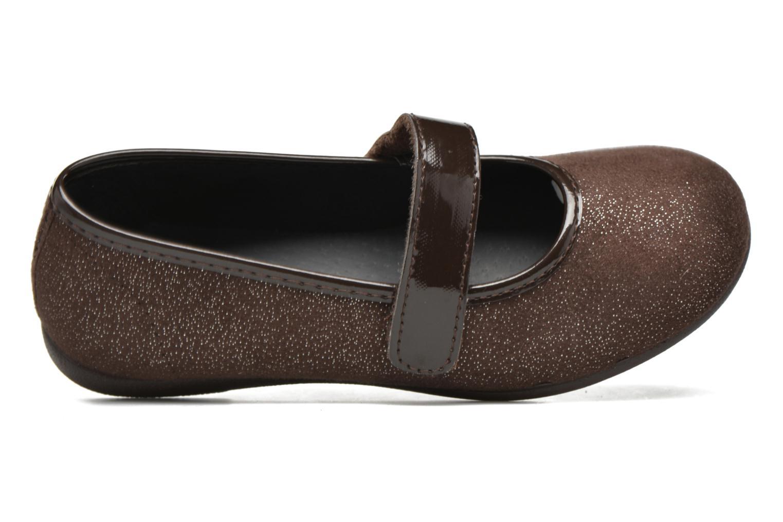 Ballerines I Love Shoes mantaisie Marron vue gauche