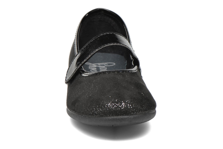 Ballerines I Love Shoes mantaisie Noir vue portées chaussures