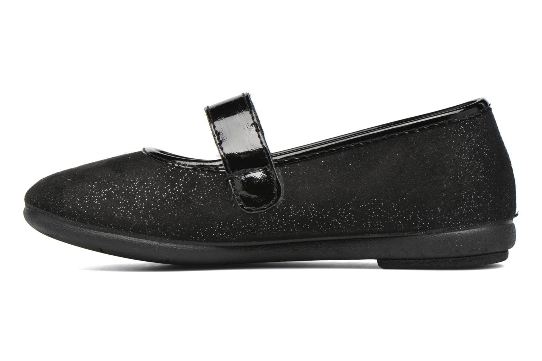 Ballet pumps I Love Shoes mantaisie Black front view