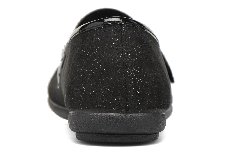 Bailarinas I Love Shoes mantaisie Negro vista lateral derecha