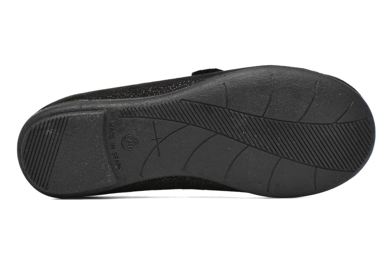 Ballerines I Love Shoes mantaisie Noir vue haut