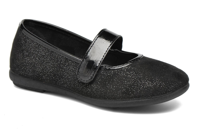 Ballerines I Love Shoes mantaisie Noir vue détail/paire