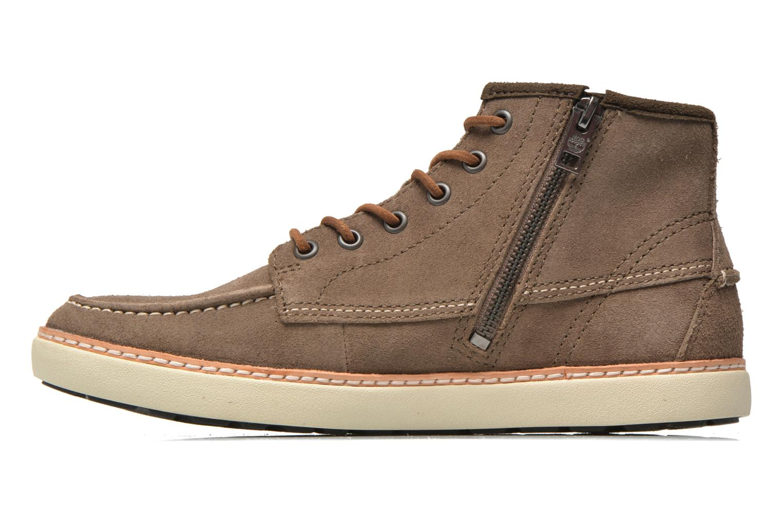 Chaussures à lacets Timberland Earthkeepers Hudstond MTC Gris vue face