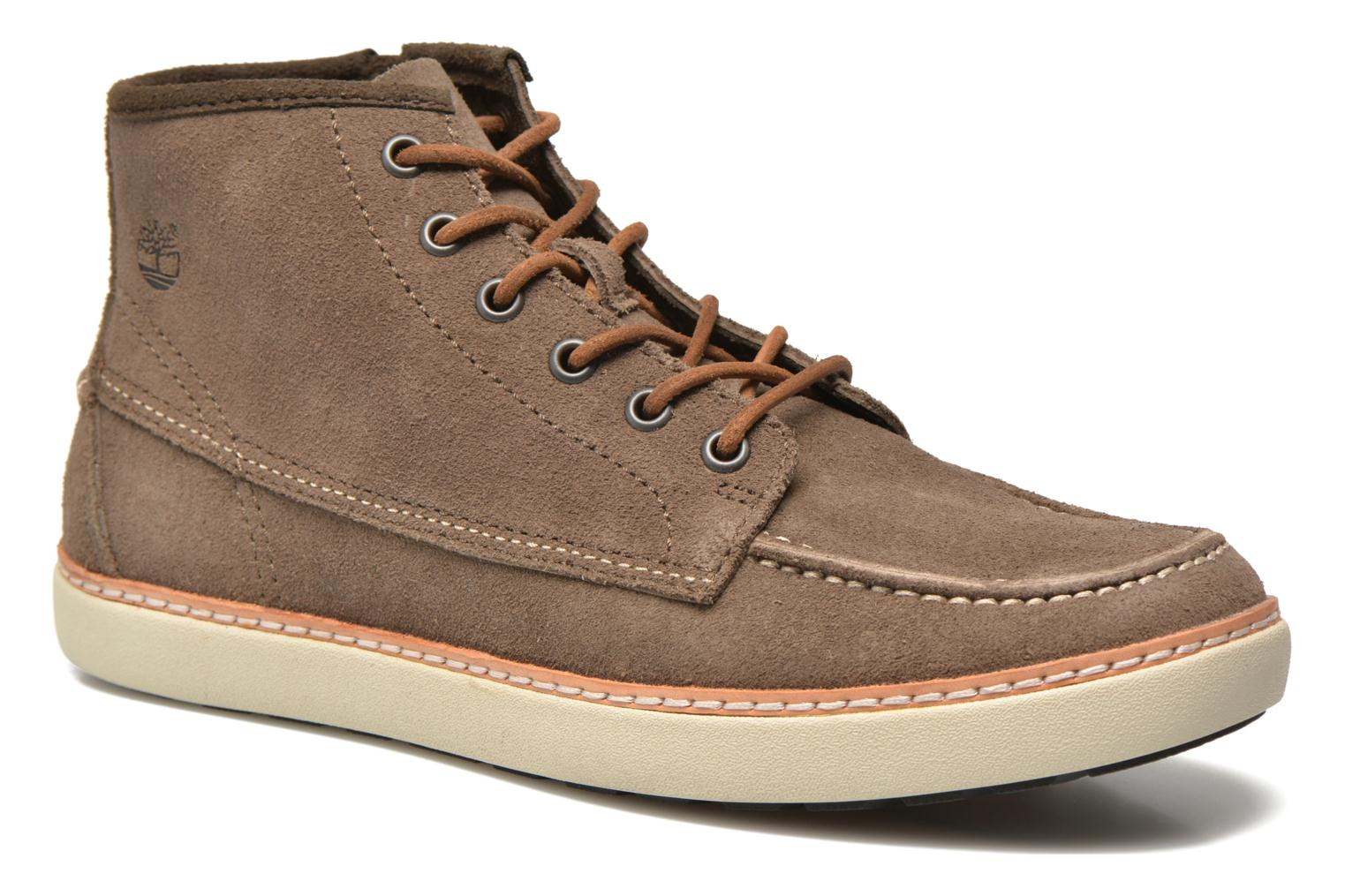 Chaussures à lacets Timberland Earthkeepers Hudstond MTC Gris vue détail/paire